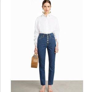 Pixie Market Front Button Levi's Jeans | 26